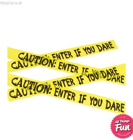 Smiffys Caution Enter If You Dare Tape