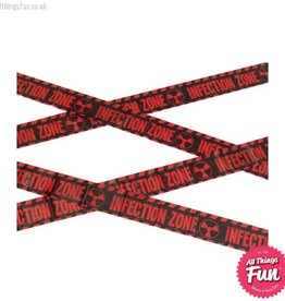 Smiffys Zombie Infection Zone Caution Tape