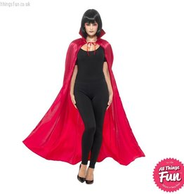 Smiffys Red Satin Devil Cape