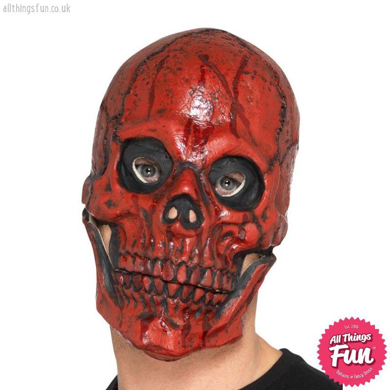 Smiffys *SP* Blood Skull Foam Overhead Latex Mask