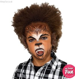 Smiffys Kids Halloween Werewolf Make Up Kit