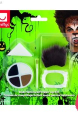 Smiffys Kids Halloween Werewolf Make Up Kit