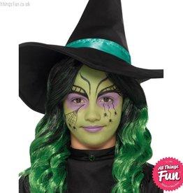 Smiffys Kids Witch Halloween Make Up Kit