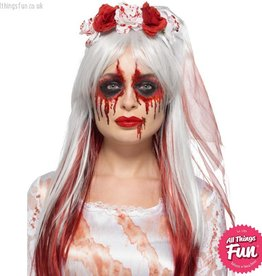 Smiffys Blood Drip Bride Cosmetic Kit