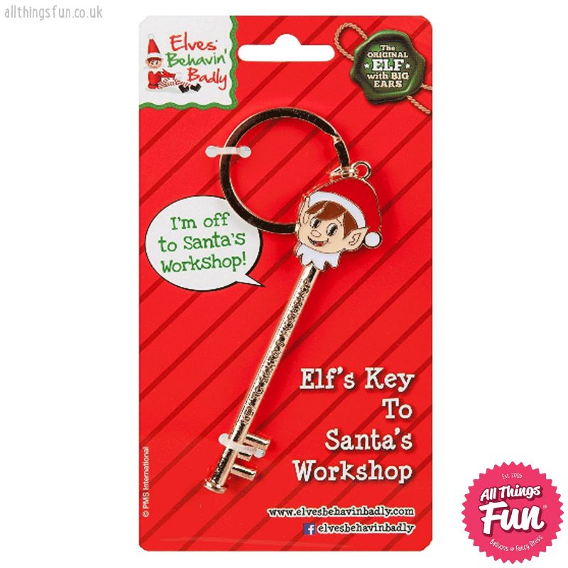 Elves Behavin'Badly Elves Behavin'Badly Elf Key to Santa's Workshop