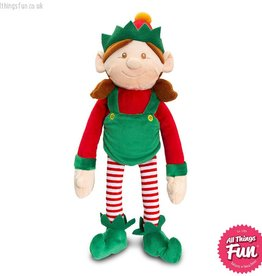 Keel Toys Dangly Christmas Shelf Elf Girl