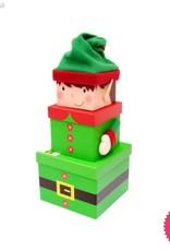 Eurowrap Elf Plush 3 Piece Gift Box Set