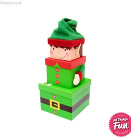 Elf Plush 3 Piece Gift Box Set