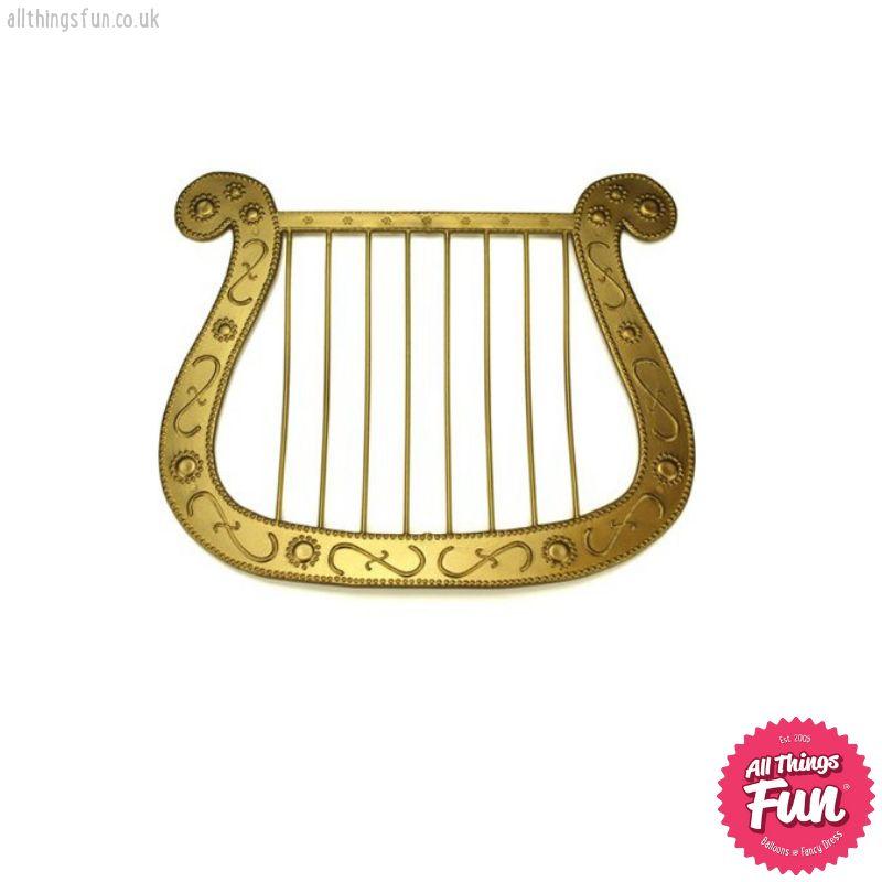 Gold Angel Harp