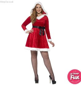 Smiffys Curves Miss Santa Costume