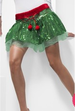 *DISC* Green Elf Sequin Tutu