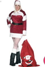 Smiffys *DISC* Miss Santa Large