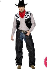 Smiffys Cowboy Leather Costume