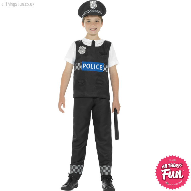 Smiffys Child's Cop Costume