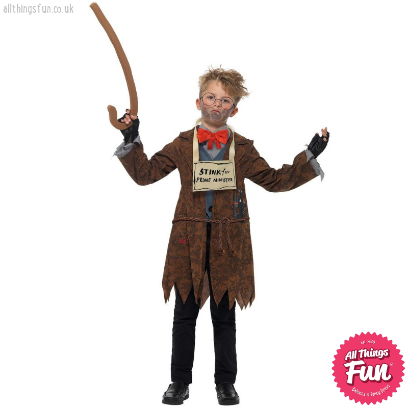 Smiffys David Walliams Deluxe Mr Stink Costume