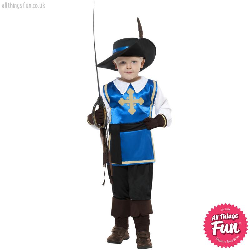 Smiffys Musketeer Child Costume