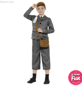 Smiffys WW2 Evacuee Boy Costume