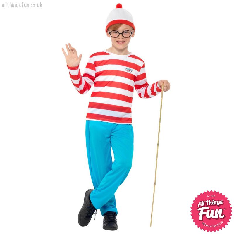 Smiffys Where's Wally? Child's Costume