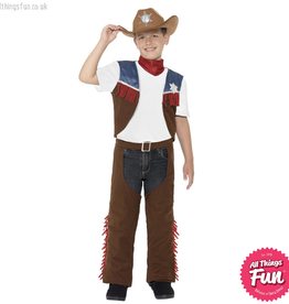 Smiffys Child's Texan Cowboy Costume Medium