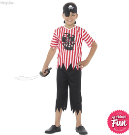 Smiffys Jolly Pirate Boy Costume