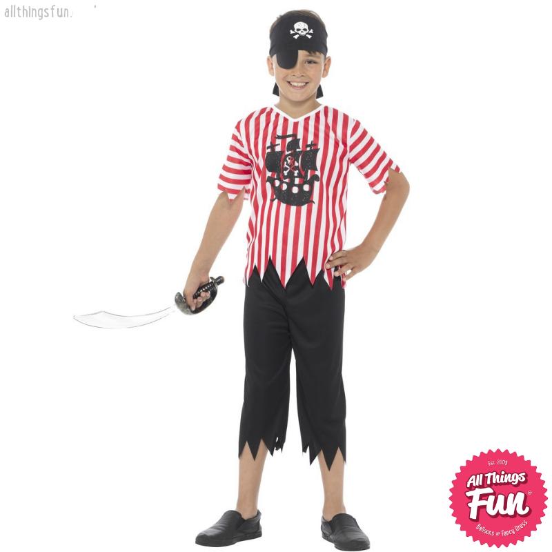 Smiffys Jolly Pirate Boy Costume
