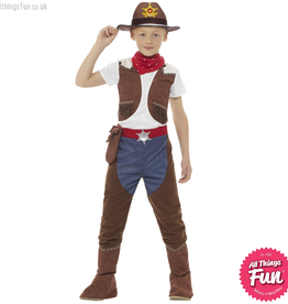 Smiffys *DISC* Deluxe Cowboy Costume