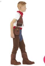 Smiffys *DISC* Deluxe Cowboy Costume
