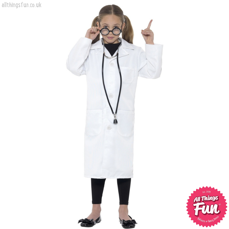 Smiffys Scientist Costume, Unisex