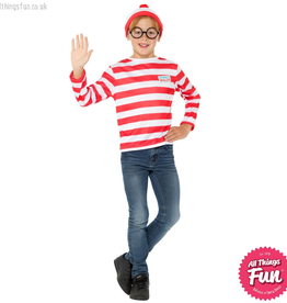 Smiffys Where's Wally? Child Instant Kit