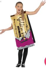 Smiffys  Roald Dahl Winning Wonka Bar Costume