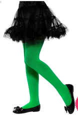Smiffys Childs Green Opaque Tights