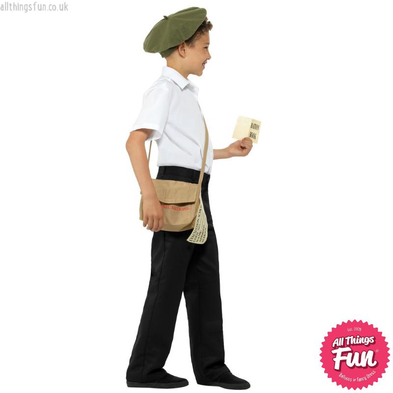 Smiffys Evacuee Instant Kit