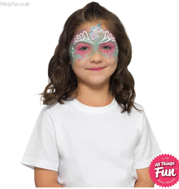 Smiffys Smiffys Make Up FX, Kids Unicorn Kit, Aqua
