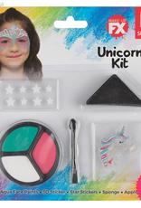 Smiffys Smiffys Make Up FX, Kids Unicorn Kit, Aqua
