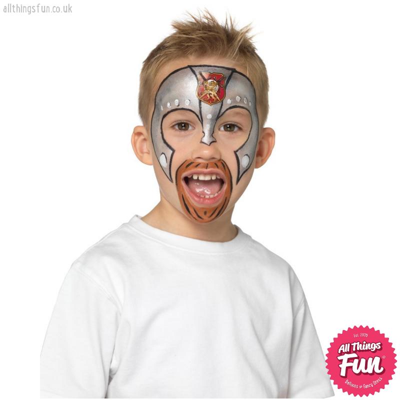 Smiffys Smiffys Make Up FX Kids Princess & Knight Kit Aqua