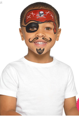 Smiffys Smiffys Make Up FX, Kids Pirate Kit