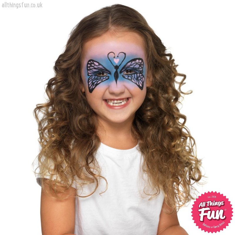 Smiffys Smiffys Make Up FX, Kids Five Character Kit, Aqua