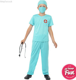 Smiffys Child's Surgeon Costume