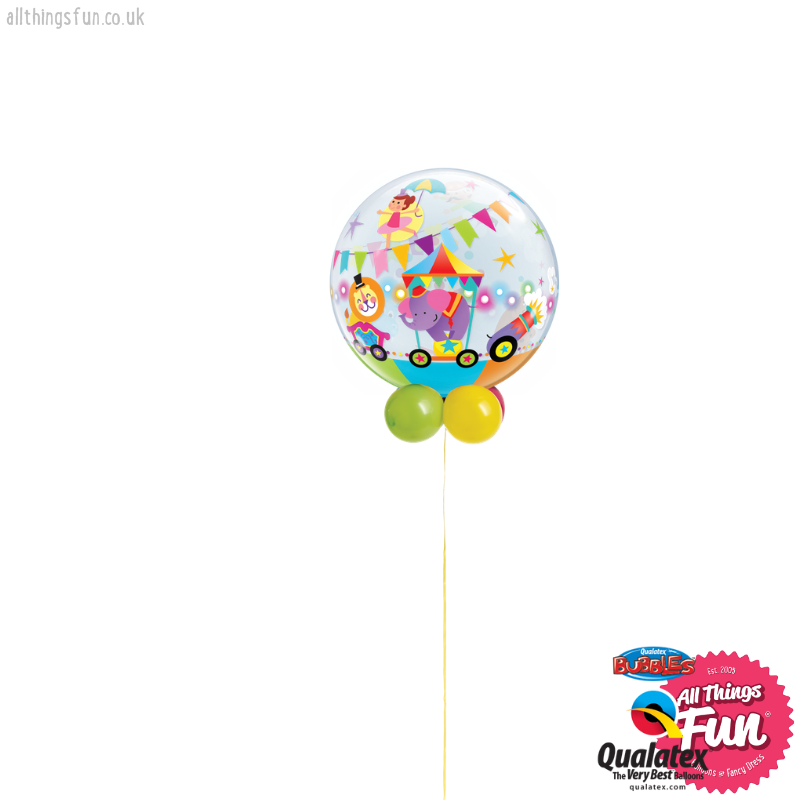 Circus Parade Bubble Design