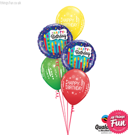 All Things Fun Birthday Candles & Confetti Classic