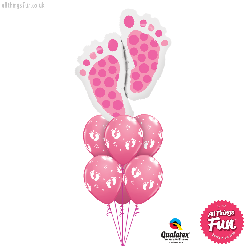 All Things Fun Baby Feet Pink Luxury