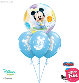 All Things Fun Disney Baby Mickey Mouse Bubble Layer