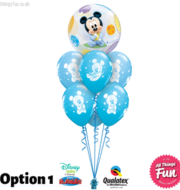 All Things Fun Baby Mickey Bubble Luxury