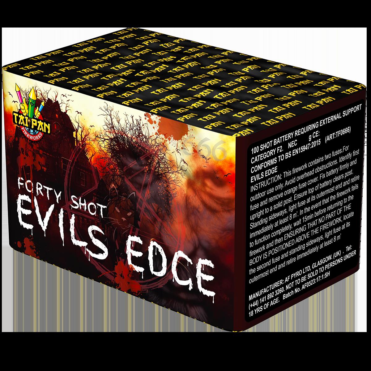 Taipan Fireworks Evils Edge - 40 Shot