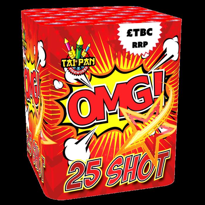 Taipan Fireworks O.M.G - 25 Shot