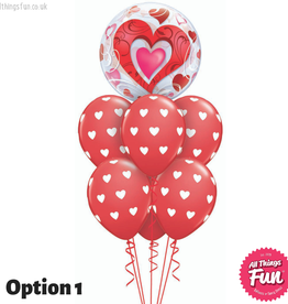 All Things Fun Love Heart Bubble Luxury