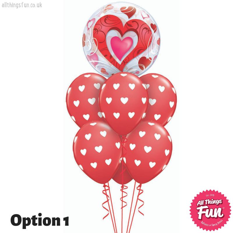 All Things Fun Love Heart Bubble Luxury