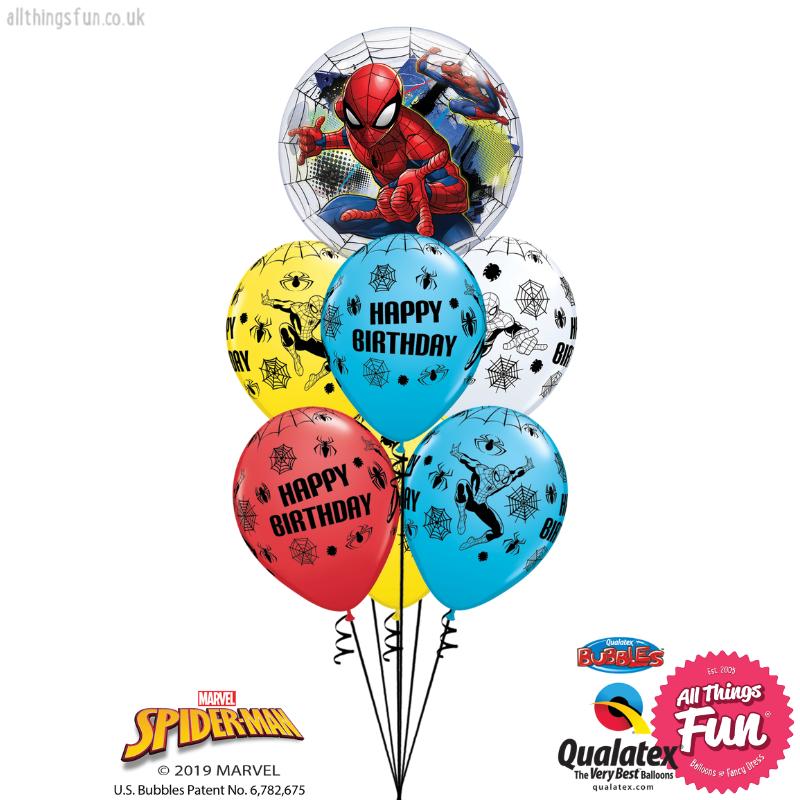 Marvels Spiderman Web Slinger Bubble Luxury