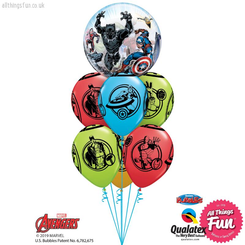 Marvel's Avengers Birthday Bubble Luxury