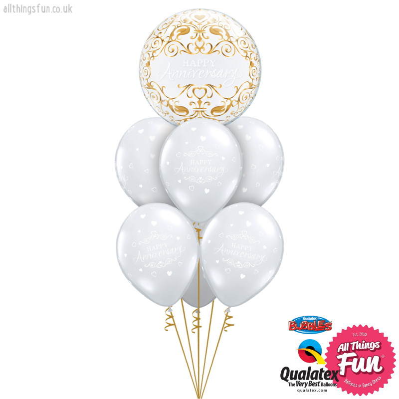All Things Fun Happy Anniversary Bubble Luxury